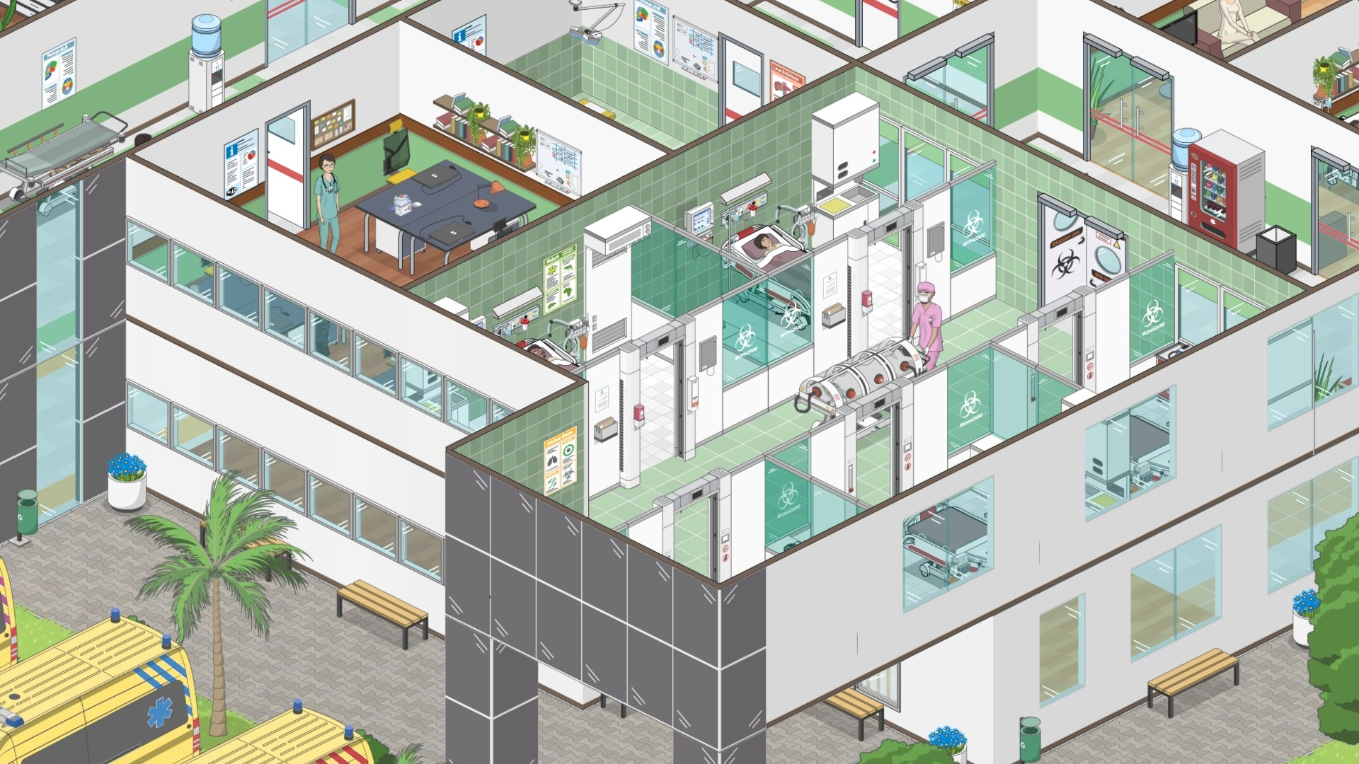 New Project Hospital DLC – Traumatology Department Now Available On Steam