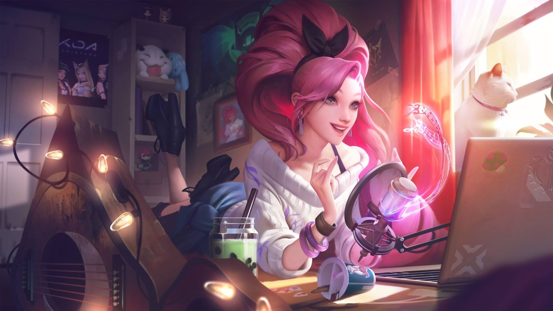 League Of Legends' K/DA Is Making An ALL OUT Debut In The Mobile Port League Of Legends: Wild Rift