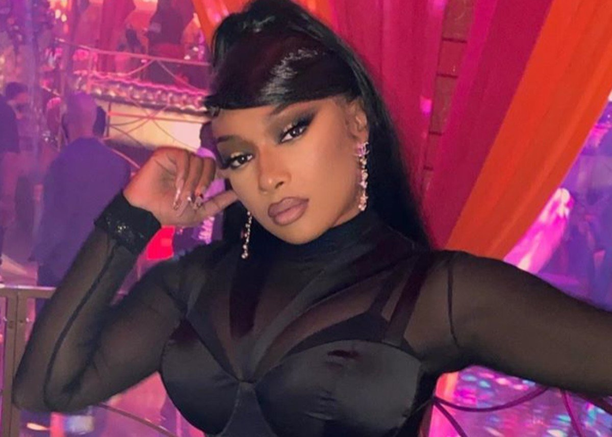 Megan Thee Stallion Puts Her Curves On Full Display In Barely There Two Piece Bathing Suit