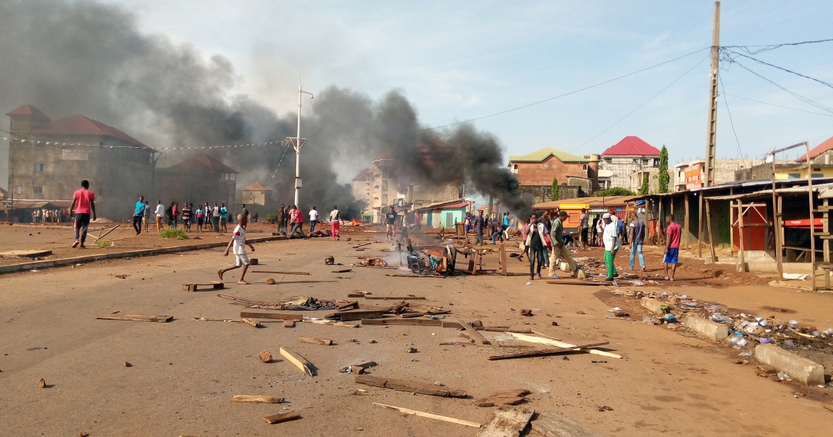 Ten killed in Guinea's post-election violence
