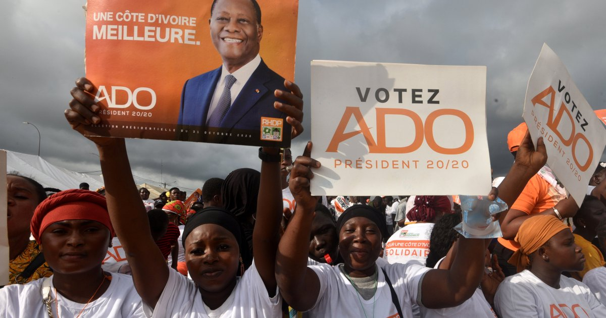 Ethnic clashes in Ivory Coast opposition stronghold ahead of poll