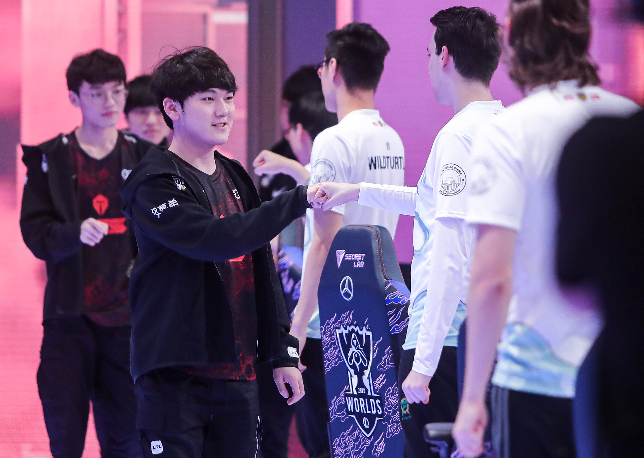 League Of Legends World Championship 2020 Main Group Event Day Four: TOP Esports Vs Unicorns Of Love