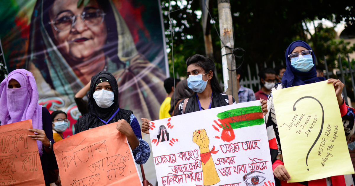 Bangladesh mulls death penalty for rapists as protests rage