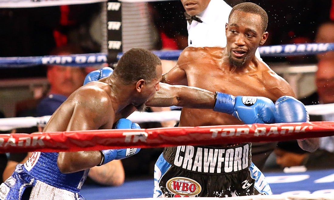 Terence Crawford's Powerful Punches KO Kell Brook, Retains the WBO Welterweight Title