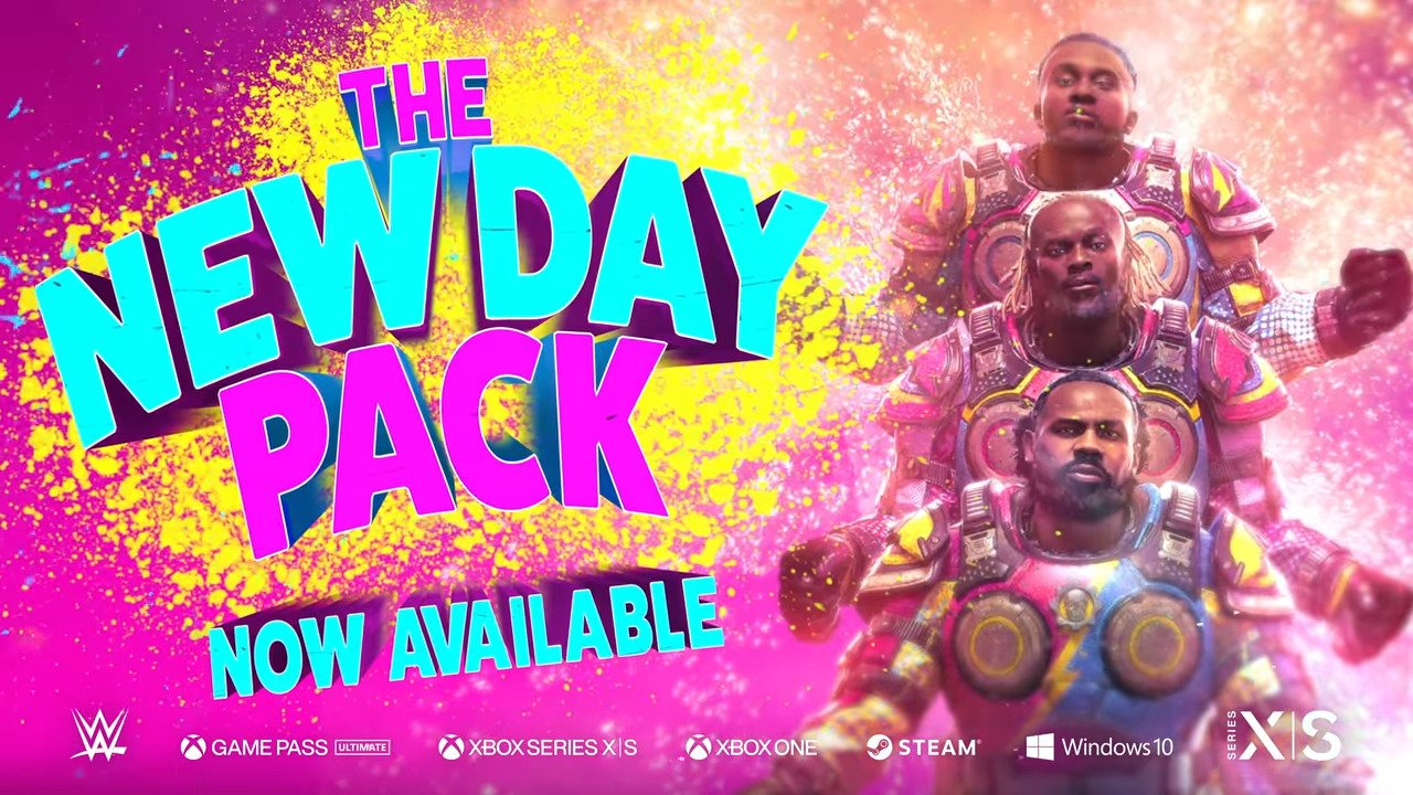 WWE Superstars The New Day Coming To Gears 5 As Playable Multiplayer Characters