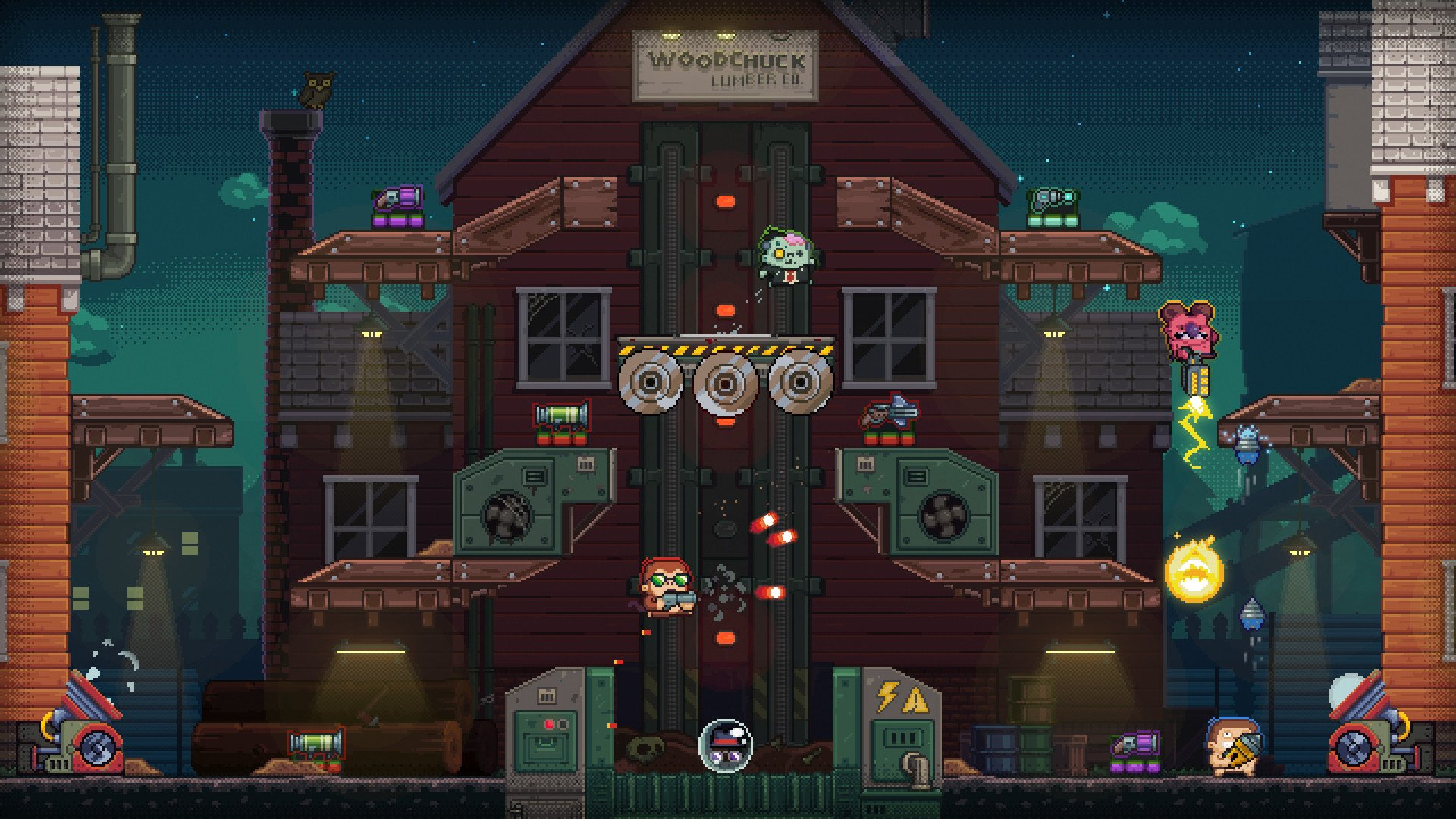 Guntastic Is A Gun Filled Arena Brawler Headed To Xbox One And Steam As Of December 4th