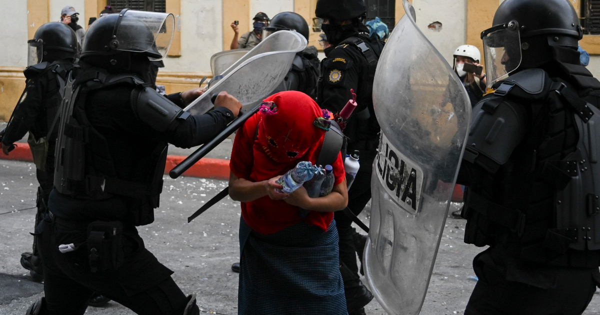 IACHR slams 'excessive force' in Guatemala protests