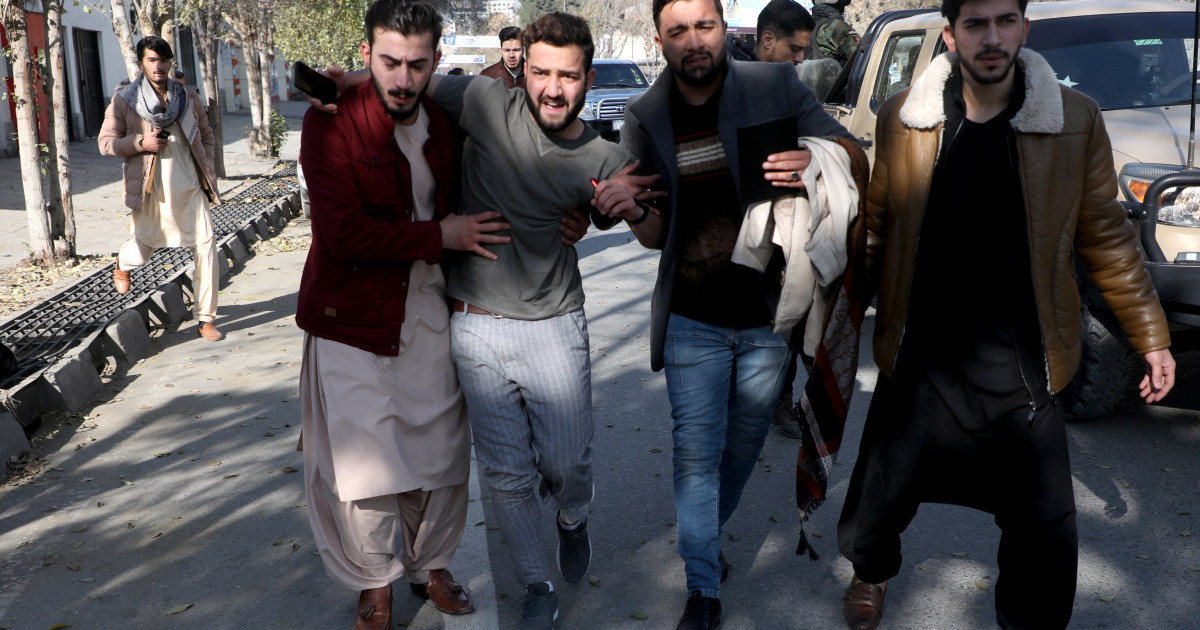 Twenty-three rockets hit Afghan capital Kabul, 8 civilians killed