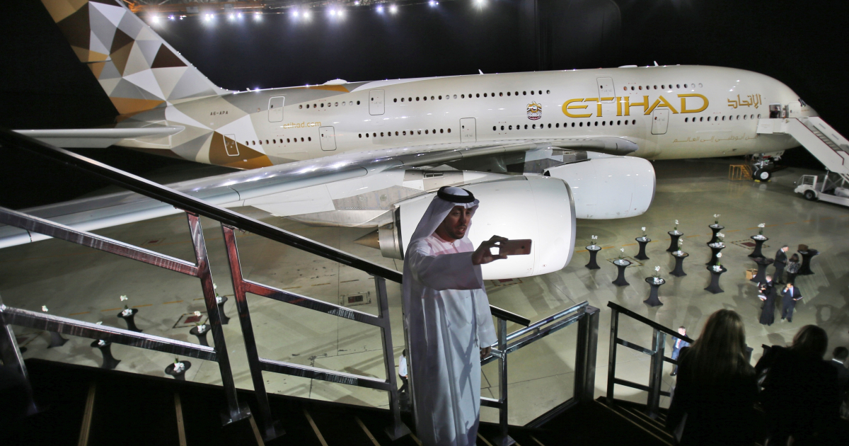 UAE's Etihad Airways to start daily flights to Tel Aviv in March
