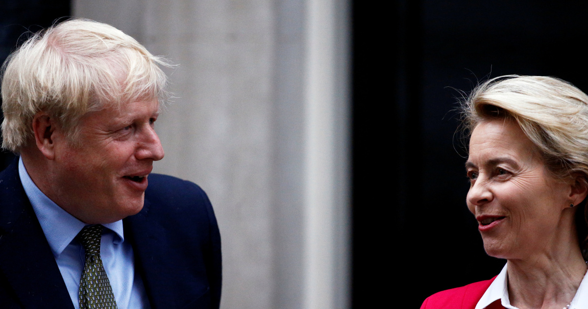 UK's Johnson to head to Brussels to try and break Brexit deadlock