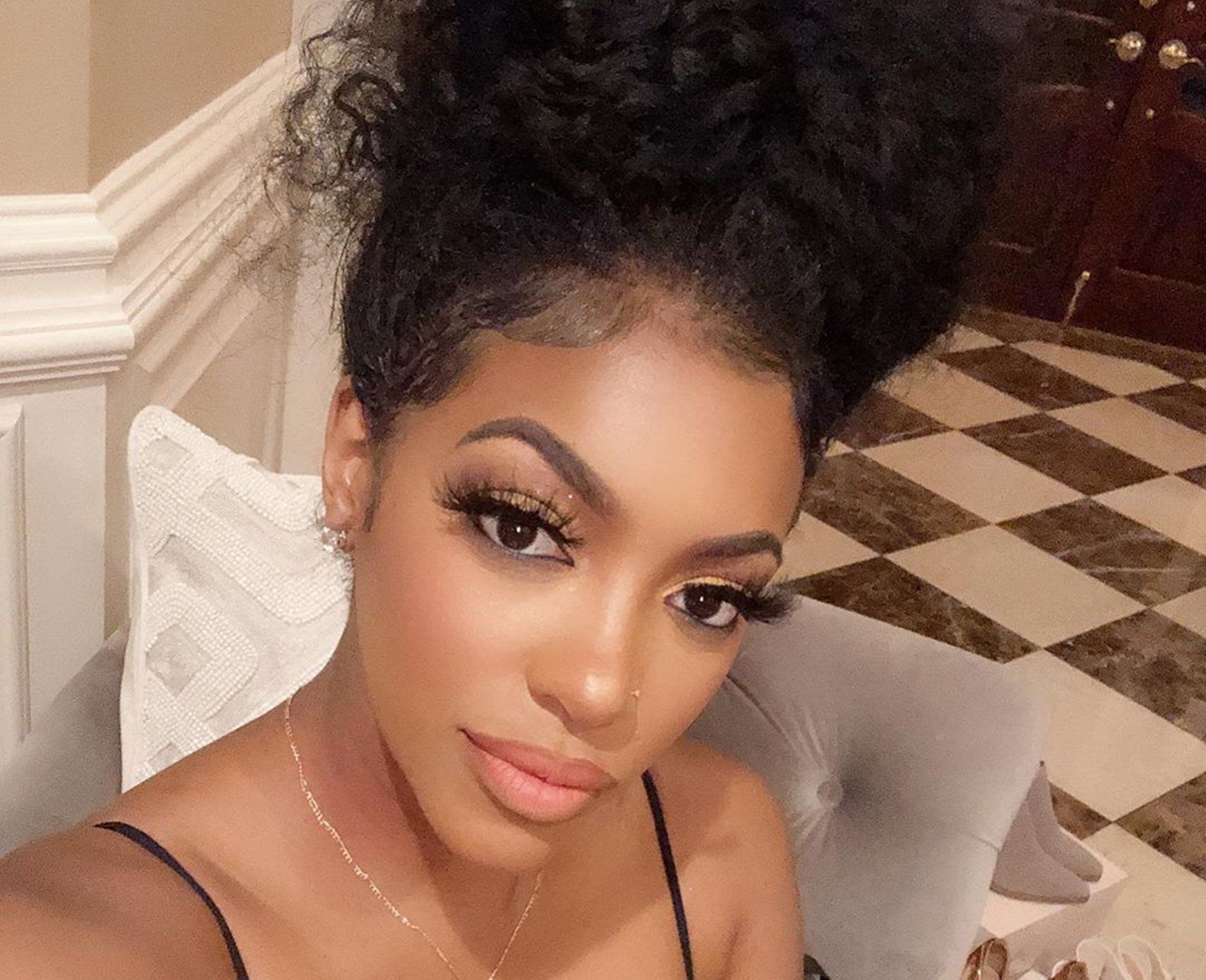 Porsha Williams Supports Black-Owned Businesses – See Her Looking Gorgeous In This Video