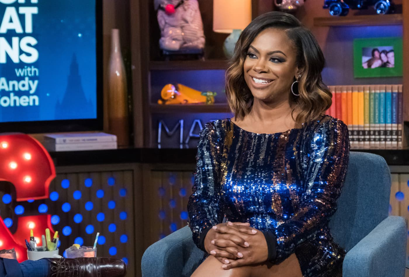 Kandi Burruss Doesn't Let Ace Wells Tucker Miss Out On Story Time With Mama Joyce – See The Video