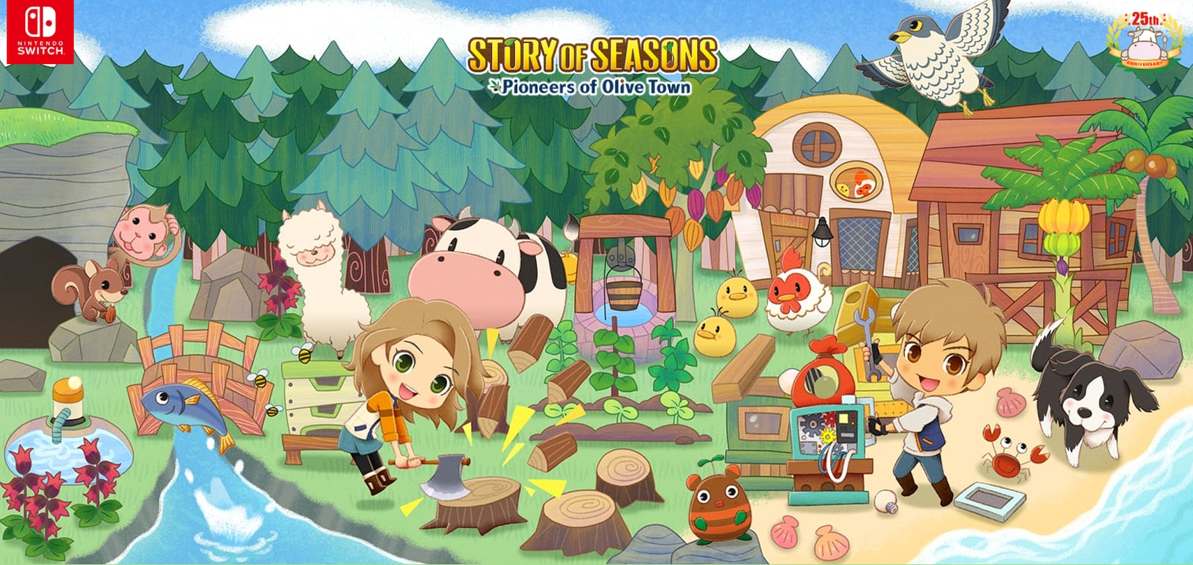 Story of Seasons: Pioneers of Olive Town Premium Edition Announced