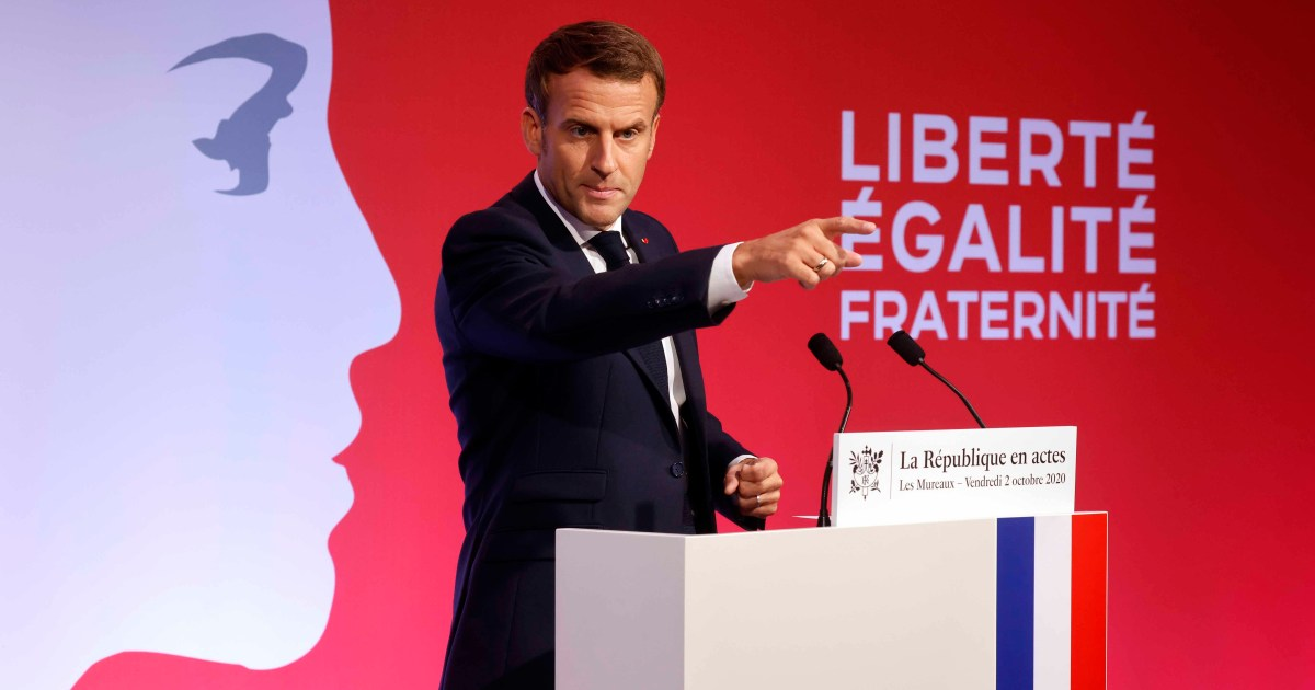France reveals details of controversial 'separatism' bill