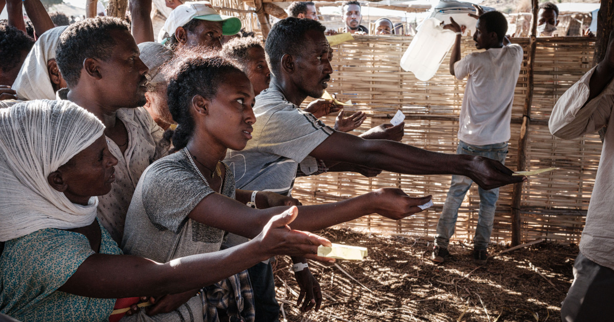 Stories of separation and violence as more Ethiopians reach Sudan