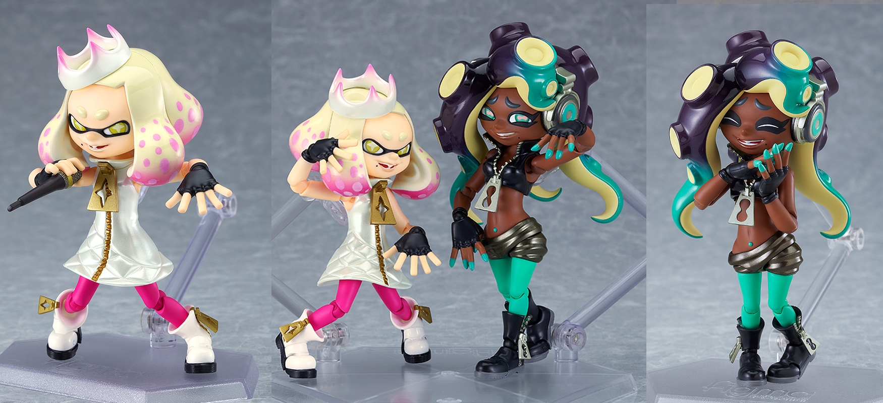 """Splatoon 2 Pearl And Marina """"Off The Hook""""Figma Set Announced From Good Smile Company"""