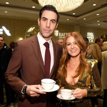 Isla Fisher Reveals She Threatened To Never Speak To Her Husband Sacha Baron Cohen Again Because He Cut Her Favorite Joke Out Of The Newest 'Borat' Movie!